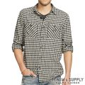 デニム&サプライ/ラルフローレン : Plaid Cotton Flannel Workshirt [コットンフランネル/チェック柄/長袖シャツ]