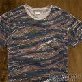 デニム&サプライ : Camouflage Tee [迷彩半袖Tシャツ]
