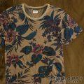 デニム&サプライ : Floral-Print Tee [半袖/フローラルTシャツ]