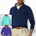 ポロ ゴルフ/ラルフローレン : Pima Cotton Half-Zip Sweater [ハーフジップセーター]