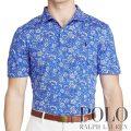 ポロ ゴルフ/ラルフローレン : Custom Fit Pima Jersey Polo [ややスリム/柔らかピマコットン/フローラル/半袖ポロシャツ]