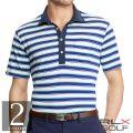 RLX ゴルフ/ラルフローレン : Active Fit Tech Piqu_ Polo [ゆったり/軽量速乾/ストレッチ/半袖ポロシャツ]