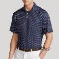 RLX ゴルフ/ラルフローレン : Classic Fit Performance Polo Shirt [ゆったり/軽量/速乾/ストレッチ/パイナップル/半袖ポロシャツ]