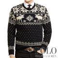 ポロラルフローレン : Intarsia-Reindeer Wool Sweater [ウール/トナカイ柄/インターシャニット/セーター]