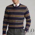 ポロラルフローレン : Fair Isle Wool Sweater [ウール/フェアアイル/セーター]