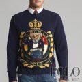 ポロラルフローレン : Crest Bear Wool Sweater [ウール/ポロベアー紋章/セーター]