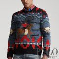 ポロラルフローレン : Cowboy Hand-Knit Sweater [ウールカシミア/ウエスタン/カウボーイ/セーター]