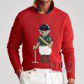 ポロラルフローレン : Riding Bear Sweater [コットンリネン/ポロ競技ポロベアー/セーター]