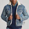 ポロラルフローレン : Fleece-Lined Denim Jacket [デニム/ボアフリース裏地/トラッカージャケット]