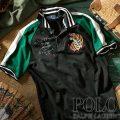 ポロラルフローレン : THE TOUR JACKET POLO SHIRT [特別限定ポロ/ややスリム/スカジャン刺繍/半袖ポロシャツ]