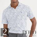 ポロラルフローレン : Classic Fit Soft-Touch Polo [ゆったり/柔らかタッチ/フローラル/半袖ポロシャツ]