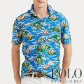 ポロラルフローレン : Classic Fit Jersey Polo Shirt [ゆったり/軽量柔らか/ハワイアン/半袖ポロシャツ]
