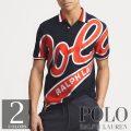 ポロラルフローレン : Classic Fit Mesh Polo Shirt [ゆったり/POLOビッグロゴ/半袖ポロシャツ]
