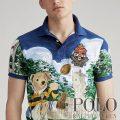 ポロラルフローレン : Rugby Bear Polo Shirt [限定/ややスリム/ラグビーポロベアー/半袖ポロシャツ]