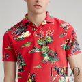 ポロラルフローレン : The Western Polo Shirt [ゆったり/ウエスタン/アロハシャツ風/半袖ポロシャツ]