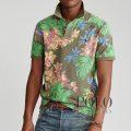 ポロラルフローレン : Custom Slim Fit Floral Polo [ややスリム/フローラル/半袖ポロシャツ]