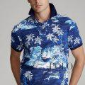 ポロラルフローレン : Classic Fit Tropical Mesh Polo [ゆったり/トロピカルフィッシュ/半袖ポロシャツ]