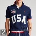 ポロラルフローレン : The Custom Slim Fit USA Polo [ややスリム/USA/アメリカン/半袖ポロシャツ]