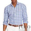 ポロラルフローレン : Classic Fit Plaid Oxford Shirt [ゆったり/オックスフォード/チェック/長袖シャツ]