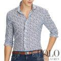 ポロラルフローレン : Classic Fit Floral Shirt [ゆったり/軽量ポプリン/フローラル/長袖シャツ]