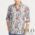 ポロラルフローレン : Classic Fit Floral Shirt [ゆったり/オックスフォード/フローラル/長袖シャツ]