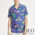 ポロラルフローレン : Classic Fit Tropical Shirt [ゆったり/軽量/レトロサーファー/開襟/半袖シャツ]