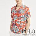 ポロラルフローレン : Classic Fit Tropical Shirt [ゆったり/軽量/ハワイアン/開襟/半袖シャツ]