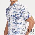 ポロラルフローレン : Classic Fit Tropical Shirt [ゆったり/オックスフォード/カジキ/半袖シャツ]