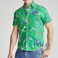 ポロラルフローレン : Classic Fit Tropical Shirt [ゆったり/オックス/アロハハワイアン/半袖シャツ]