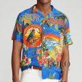 ポロラルフローレン : Classic Fit Tropical Shirt [ゆったり/軽量/開襟/ハワイアン/半袖シャツ]