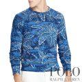 ポロラルフローレン : Cotton Spa Terry Sweatshirt [軽量柔らか/サーファーフロラル/スウェットシャツ]