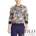 ポロラルフローレン : Double-Knit Graphic Sweatshirt [ダブルニット/カレッジスポーツ/POLO/スウェットシャツ]