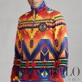 ポロラルフローレン : Southwestern Fleece Pullover [フリース/ネイティブ柄/ハーフジッププルオーバー]