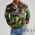 ポロラルフローレン : Polo Camo Half-Zip Sweatshirt [フリース/POLO/迷彩/ハーフジップスウェットシャツ]