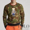 ポロラルフローレン : Polo Bear Camo Sweatshirt [フリース/迷彩/ポロベアー/スウェットシャツ]