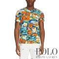 ポロラルフローレン : Custom Slim Fit Tropical Tee [ややスリム/ハワイアンパッチワークプリント/半袖Tシャツ]