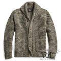 RRL/ダブルアールエル : Cotton-Wool Shawl Cardigan [コットンウール/ショール襟/カーディガン]
