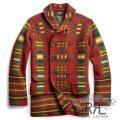 RRL/ダブルアールエル : Wool-Blend Sweater Jacket [メリノウール/バーズアイジャカード/ダブルブレスト/カーディガン]