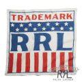 RRL/ダブルアールエル : Buckaroo Indigo Cotton Scarf [インディゴコットン/アメリカンフラッグ/バンダナ]