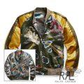 RRL/ダブルアールエル : Reversible Satin Tour Jacket [日本製生地/スカジャン/リバーシブル]