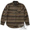 RRL/ダブルアールエル : Cotton-Wool Workshirt [ネイティブ柄/ウールブレンド/ワークシャツ]