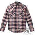 RRL/ダブルアールエル : Cotton-Blend Western Shirt [メタルファイバー/ウエスタン/長袖シャツ]
