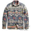RRL/ダブルアールエル : Ranch Cotton Jacquard Shirt [コットンジャカード/牧場風景/長袖シャツジャケット]