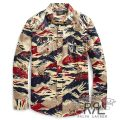 RRL/ダブルアールエル : Buffalo Silk Western Shirt [ヴィンテージ柄/シルク/長袖ウエスタンシャツ]