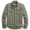 RRL/ダブルアールエル : Matlock Plaid Cotton Workshirt [起毛コットンツイル/チェック/長袖ワークシャツ]