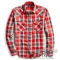 RRL/ダブルアールエル : Buffalo Cotton Western Shirt [ウエスタンフィット/軽量/チェック/長袖シャツ]