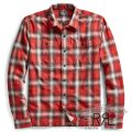RRL/ダブルアールエル : Plaid Cotton Camp Shirt [コットンフランネル/チェック/長袖シャツ]