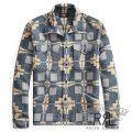 RRL/ダブルアールエル : Cotton Jacquard Shirt Jacket [ネイティブ柄/厚手/シャツジャケット]