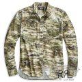 RRL/ダブルアールエル : Print Flannel Workshirt [フランネル/アートワークプリント/長袖シャツ]