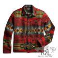 RRL/ダブルアールエル : Southwestern Overshirt [コットンウール/ジャカード/ネイティブ柄/長袖オーバーシャツ]